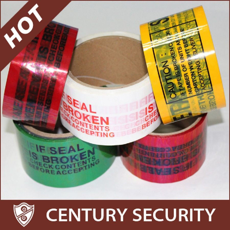 Tamper Evident Security Tape for Carton Sealing