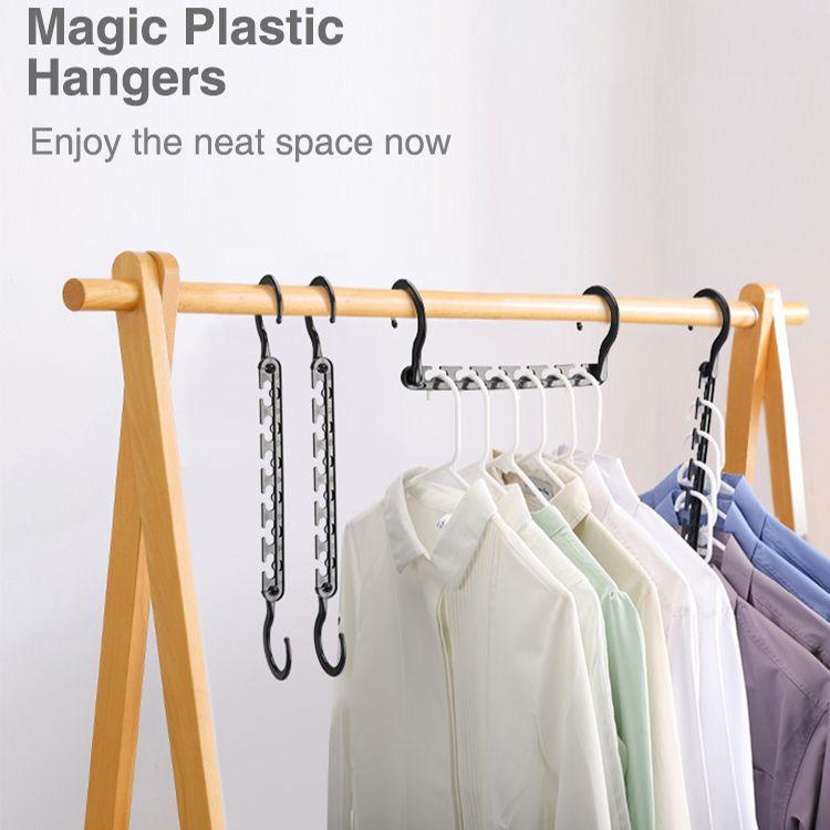 Wholesale Space Saving Clothes Wonder Magic Hangers Closet Storage Organizer