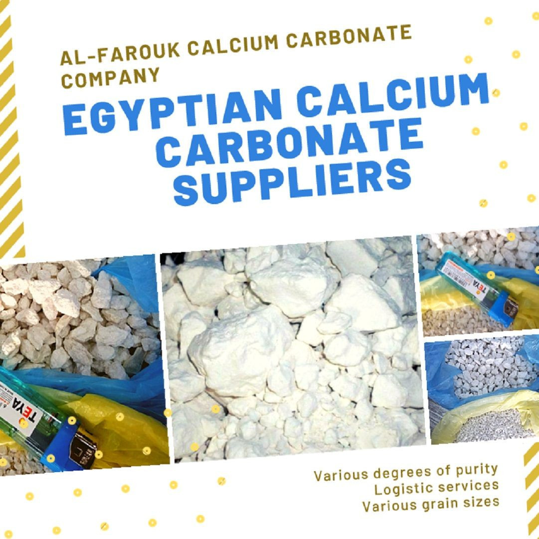 Egyptian Calcium Carbonate Suppliers