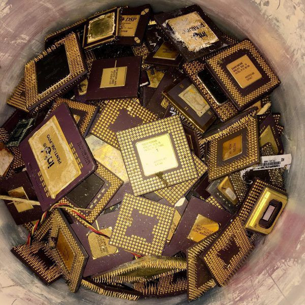 Ceramic Cpu Scrap For Gold Recovery