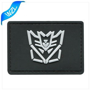 3d custom rubber patch label sewing accessories for clothing