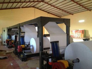 A4 paper cutting and packing machine line