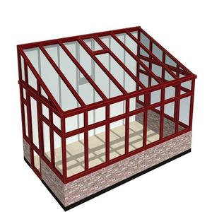 Aluminium glass sunroom