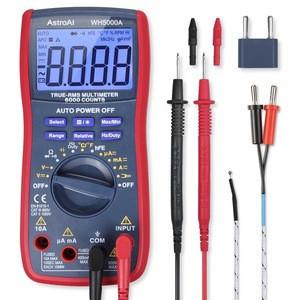 AstroAI Digital Multimeter, TRMS 6000 Counts Volt Meter Manual Auto Ranging; Measures Voltage Tester