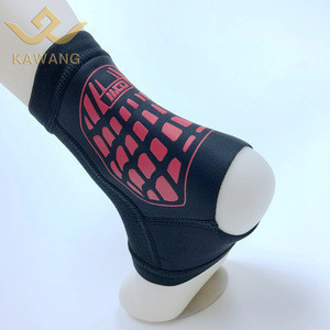 Breathable compression ankle sleeve for running sports