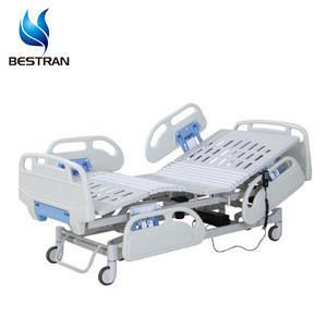 BT-AE103 Hospital furniture manufacturer 3 function electric ICU adjustable medical hospital bed for patients