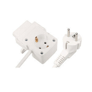 CE GS Certificate 3 Pin AC Power Cable Electric Socket Outlet Extension Cord Plug For Ironing Board