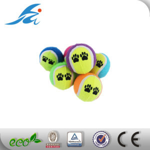 Cheap price pet tennis ball for dog pet toy made in China
