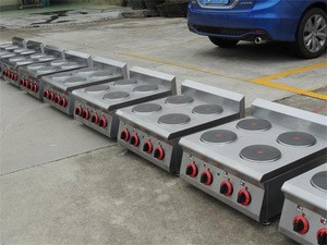 Commercial Electric 4 Hot Plate ,Electric Cooker With 4 Hot Plates(EGO plate)BN600-E603