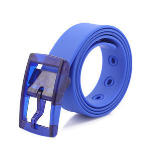 Factory customizable Superior quality silicon belt plastic silicone belt