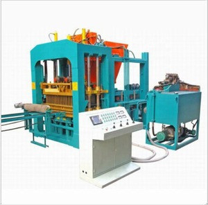 Factory directly QTY4-15 cement free firing brick equipment large hydraulic block machine road paver brick making machine