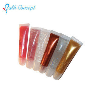 For night club glitter lipgloss charming shimmer lip gloss