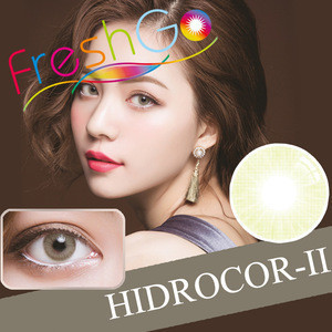 Fresh color Prescription Contact Lens Blue Natural Light Color Wholesale Contact color Lenses Cosmetic Eyewear with Power