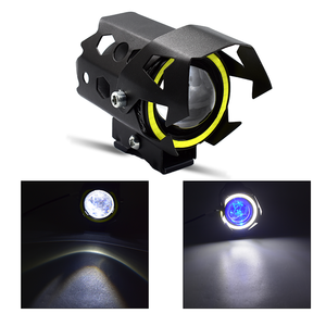 High Power Auxiliary Lamp Motorcycle led Headlights U8 bulb and white  Accessories Fog Light for Motorcycle