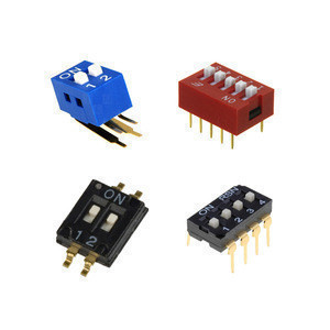 High quality 175 KLS brand 3 position 1.27mm tri-state dip switch