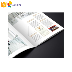 Hot sale guangzhou printing manufacturer A4 booklet A3 magazine wholesale