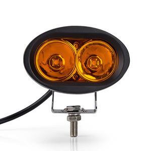 Hot selling 4 inch led work light Amber led fog light on snowmobile led warning light