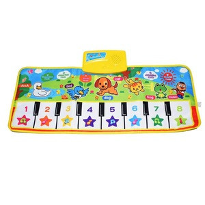 Household piano pad children's music pad dancing game pad educational toy birthday Christmas Easter gift suitable for kids