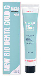 [IC/JEN] New Bio Denta Gold C Toothpaste specialized in gum diseases