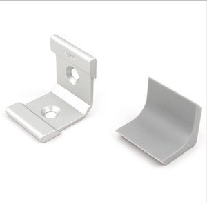 L Right Angle Corner Bracket with Plastic L Shape Covered (Made in Korea)