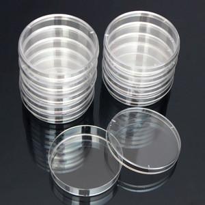 Lab Used Plastic Placas Sterile Disposable 90mm Sterile Plastic Petri Dish Container 75mm Petri Dish