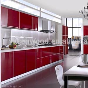 Latest mdf kitchen cabinet door