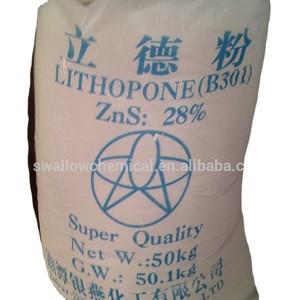 Lithopone Raw Material B301/B311-30%  White Inorganic Pigments High Purity