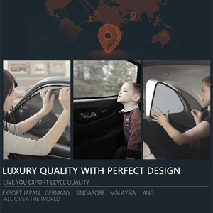 Magnetic mesh car sunshade ,clip sunshade,UV protect sunshade for landcruiser prado