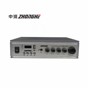 MP-5050D High quality USB SD in 50w Professional mini Power mixer  Amplifier