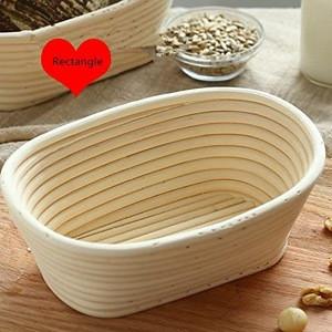 Oval Bread Proofing Basket Banneton Baskets Sourdough Brotform Proofing Basket Set Banaton Towel for Baking Rattan