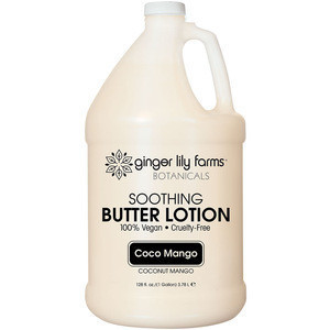 Perfect level of moisture on skin for Butter Lotion Coco Mango Gallon