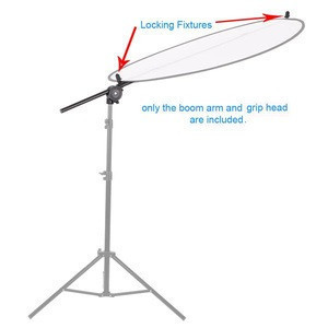 Photo Studio Holder Bracket Swivel Head Reflector Arm Support Equipment Reflector Plate Disc Grip Arm
