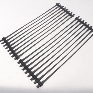 Plastic polypropylene unidirectional uniaxial tensile plastic geogrid for roadbed reinforcement
