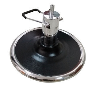Professional manufacturing barber chair hydraulic pump and round square plate salon beauty equipment base 680-AB