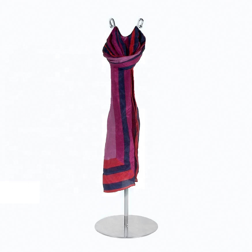 Retail metal silk ties scarf display stand