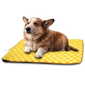 Small Animal Heated Pad Tan 9X12-Inch With NTC