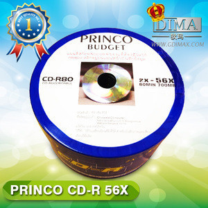 Top quality brand cdr blank disks good from china