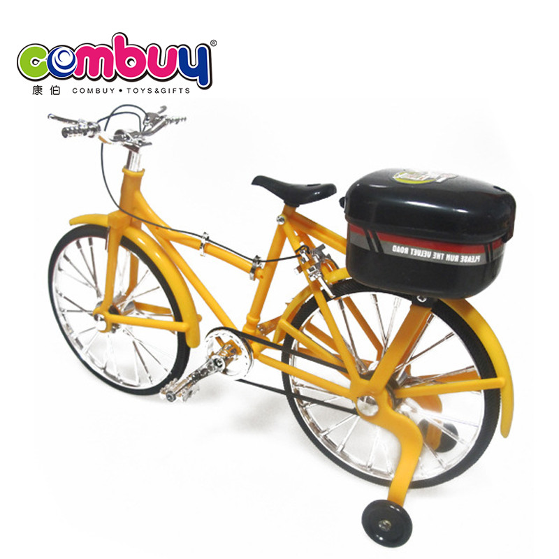 Top sale battery operated cheap cartoon dolls electric mini toy bicycles