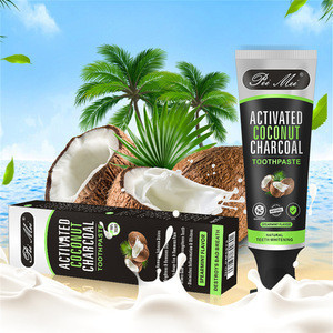 Vanecl Activated Charcoal & Organic Coconut Oil Teeth Whitening Toothpaste