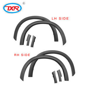 Wholesalers TXR ABS Material Wheel Arch Trim Car Accessories Plastic Injection Mold Fender Flares
