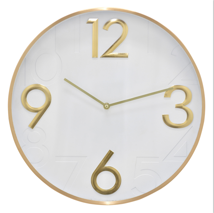 16INCH Metal Wall Clock