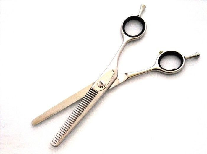"""""""W30 Glasses 6.0Inch"""" Japanese-Handmade Thinning Hair Scissors (Your Name by Silk printing, FREE of charge)"""