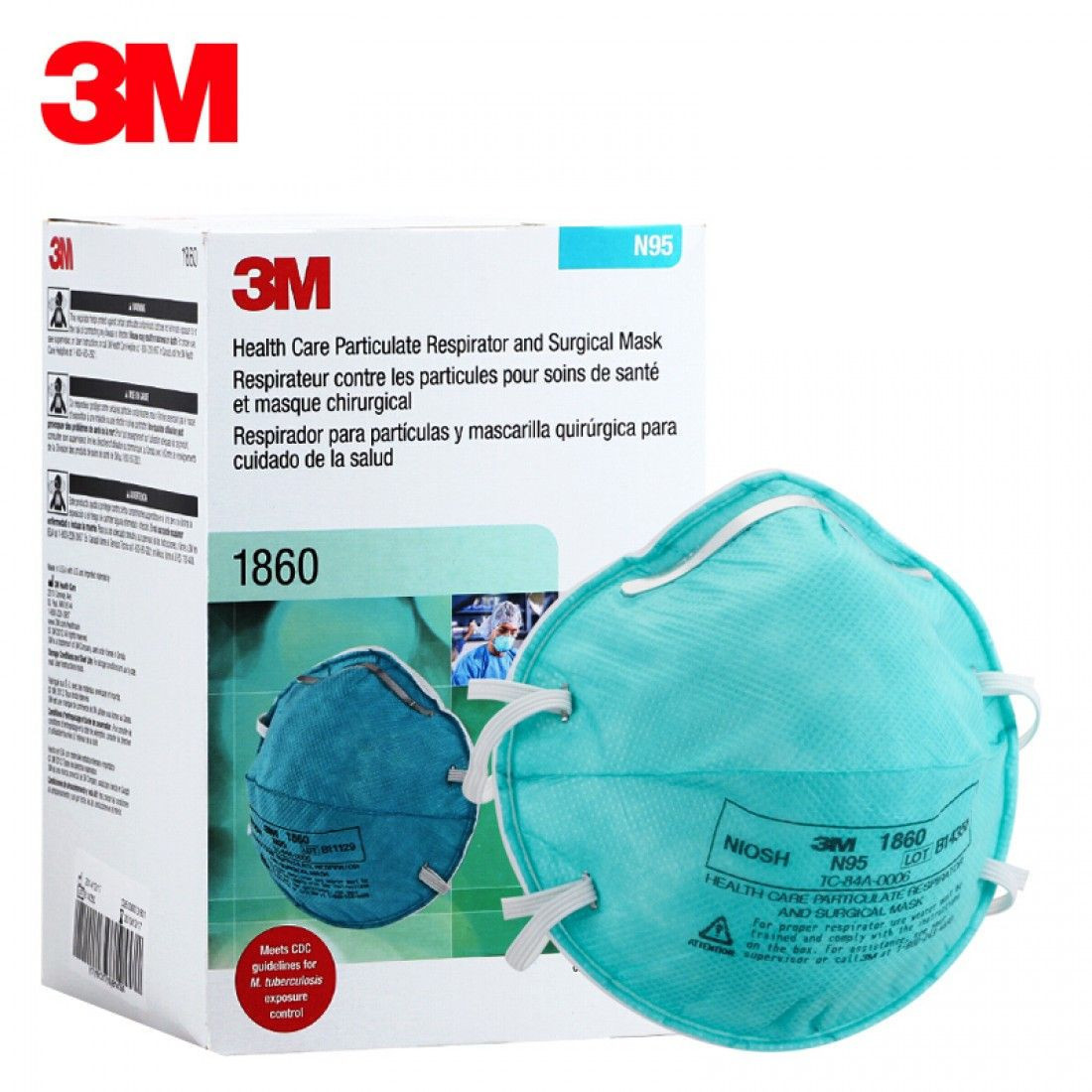 3M N95 Mask and KN95 Mask