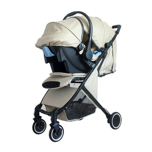 Foldable baby stroller en1888 with car seat
