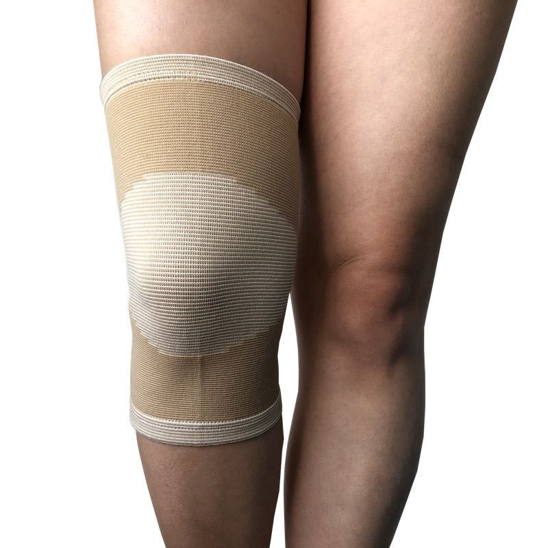 Knit Elastic Knee Support Brace with Closed Patella