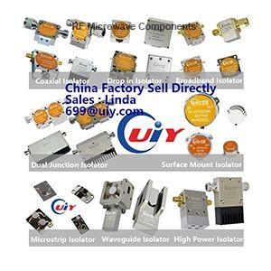 RF Isolator / 5G Isolator / Coaxial Isolator / Drop in Isolator / Broadband Isolator / Dual Junction Isolator