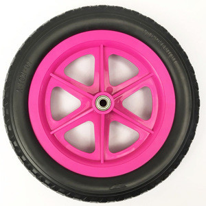 12inch plastic wheel 6 spokes for children's balance bicycle