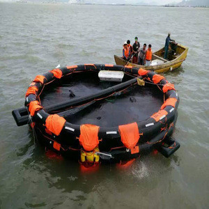 30M Used Self-righting Inflatable Life Raft