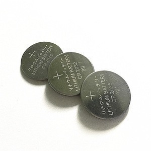 3.0V Lithium Button Cells Batteries cr2025 for car remote control
