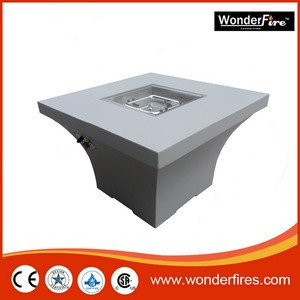 """36""""*36"""" Square Chat Fire Pit Table Outdoor Garden Gas Heater BTU 55,000"""